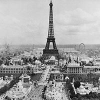 Exposition Universelle 1900 in Paris, France